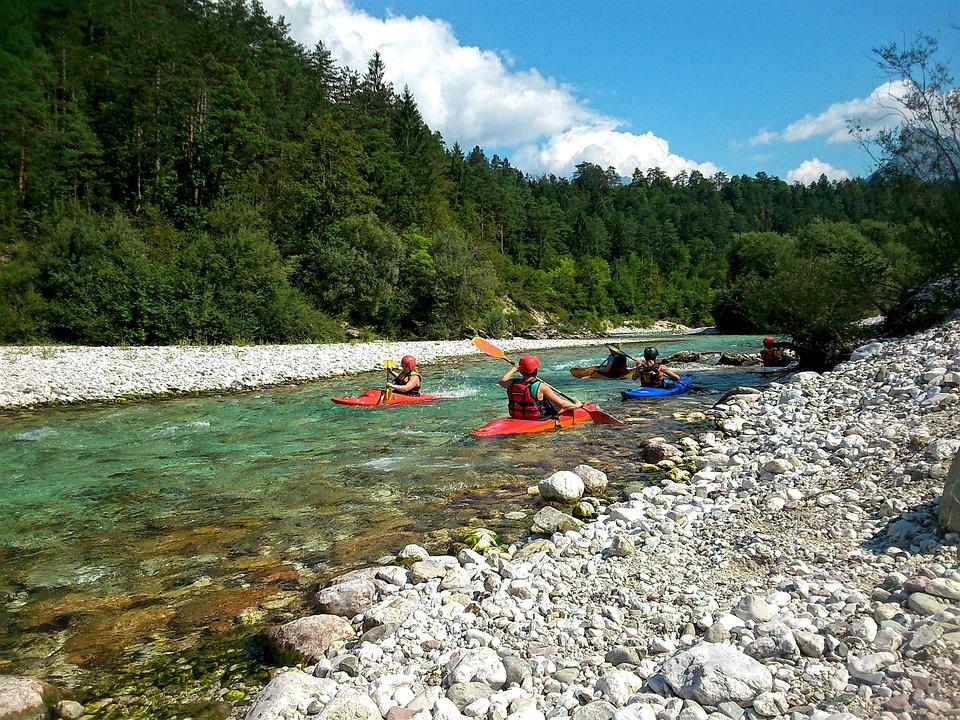 Kayaks River