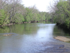 Great Miami River at Ohio River